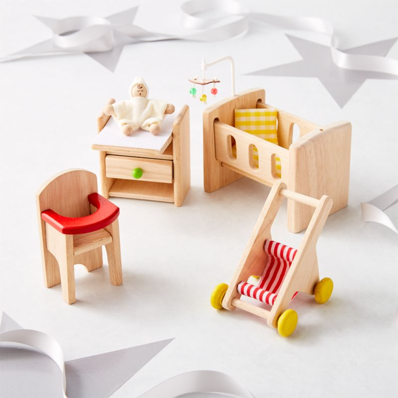 Plan Toys Nursery Dollhouse Furniture Reviews Crate