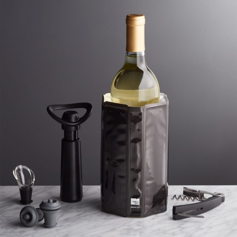 Vacu Vin Wine Essentials Gift Set Reviews Crate And Barrel