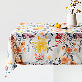 Vale Floral Tablecloth