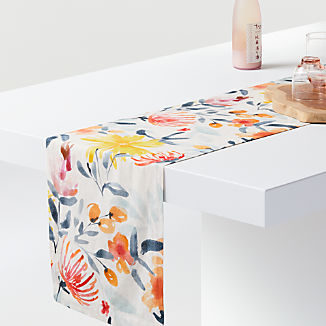 Vale Floral Table Runner