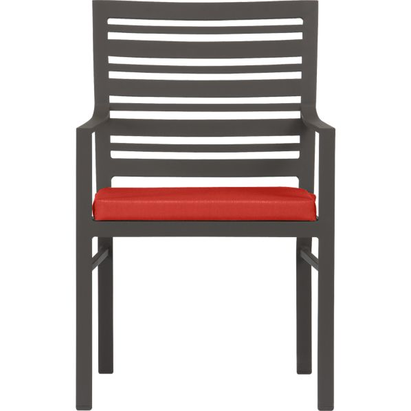 Valencia Dining Chair with Sunbrella ® Caliente Cushion