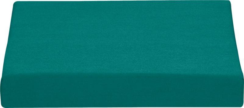 Add extra comfort to Valencia ottoman with fade-, water- and mildew-resistant Sunbrella® acrylic cushions in deep harbor blue. Fabric tab fasteners hold cushion in place.<br /><br /><NEWTAG/><ul><li>Fade- and mildew-resistant Sunbrella acrylic</li><li>Polyurethane foam cushion fill</li><li>Fabric tab fasteners</li><li>Spot clean</li></ul>