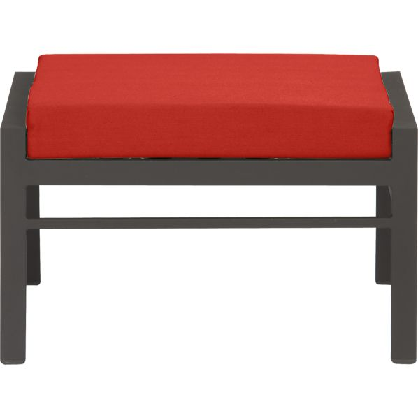 Valencia Ottoman with Sunbrella ® Caliente Cushion