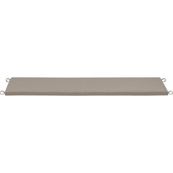Valencia Sunbrella ® Stone Small Dining Bench Cushion