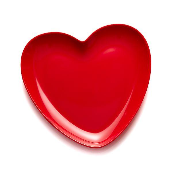 ValentineHeartPlate9inS17