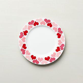 Valentine Salad Plate