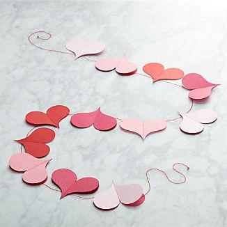 Valentine Heart 6' Paper Garland