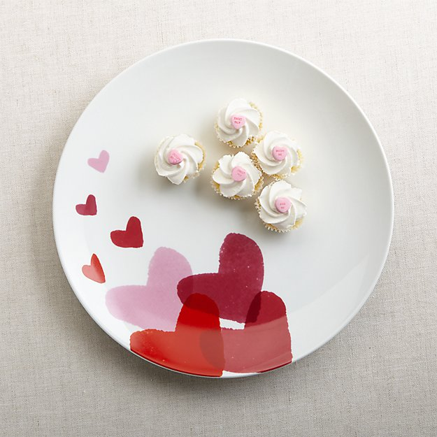 Valentine S Round Serving Platter Reviews Crate And Barrel