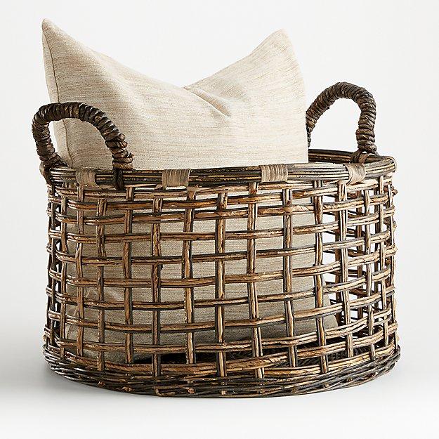 Valerio Open Weave Basket - Image 1 of 4