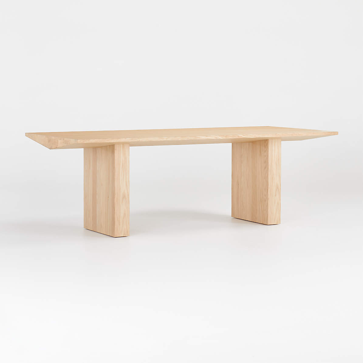 Van Natural Wood Dining Table Reviews Crate And Barrel