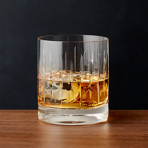 Vance Cut-Glass Double Old-Fashioned Glass - Image 1 of 4