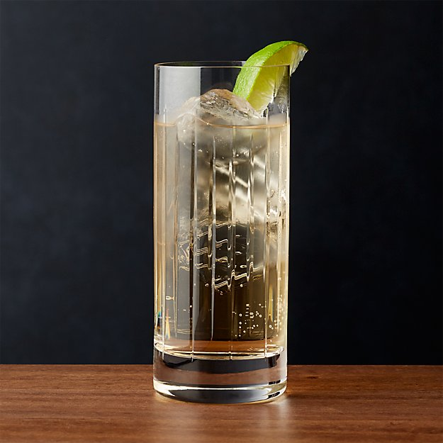 Vance Cut-Glass Highball Glass - Image 1 of 4