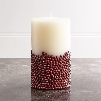 Vanilla-Scented 3.5x6 Inclusion Candle