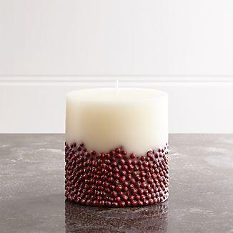 Vanilla-Scented 4x4 Inclusion Candle