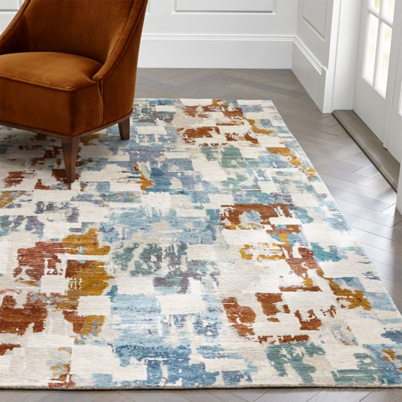 Contemporary Area Rugs for a Cozy Living Room | Crate and Barrel