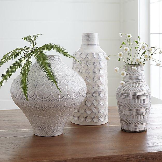 Taline Vase Arrangement Crate And Barrel
