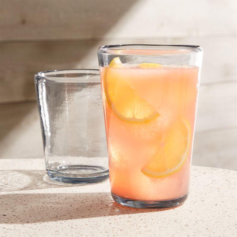 1113ca9461de Vaso Grey Acrylic Drinking Glasses