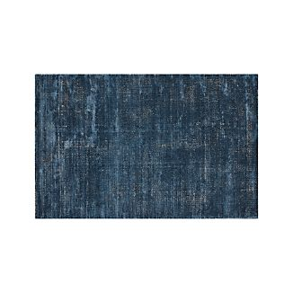 Blue Area Rugs Crate And Barrel