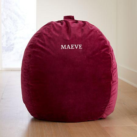 Remarkable Large Pink Velvet Bean Bag Chair Reviews Crate And Barrel Uwap Interior Chair Design Uwaporg