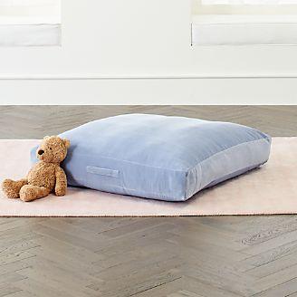 Kids Floor Pillows, Bean Bag Chairs & Poufs | Crate and Barrel