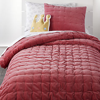 Velvet Dark Pink Bedding