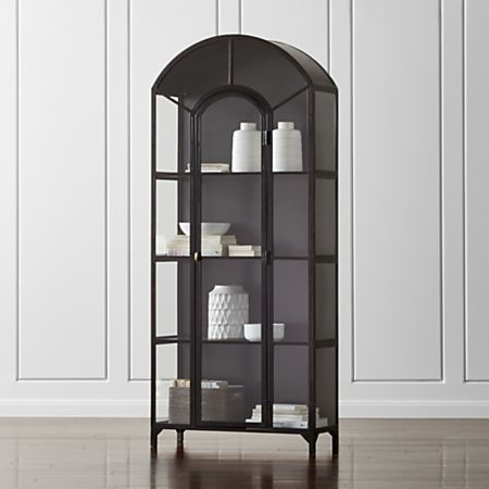 Ventana Glass Display Cabinet Reviews Crate And Barrel