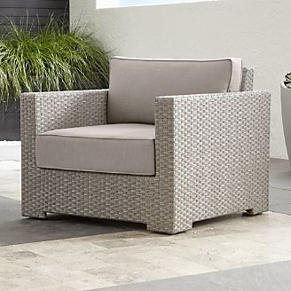 Pin It Ventura Quartz Lounge Chair With Sunbrella ® Cushions