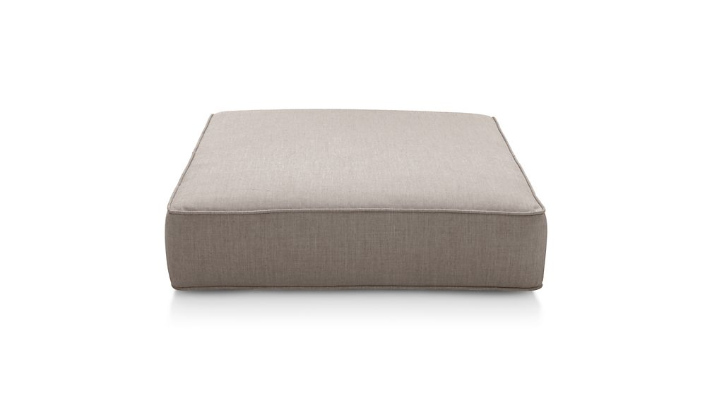 ... Ventura Sunbrella ® Modular Ottoman Cushion ... - Ventura Sunbrella ® Modular Ottoman Cushion Crate And Barrel