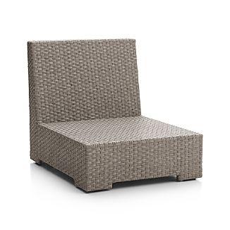Ventura Quartz Modular Armless Chair