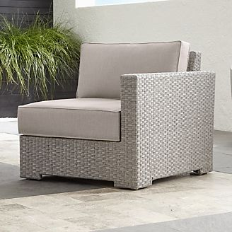 Resin Wicker Patio Furniture Crate And Barrel