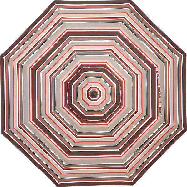 9' Round Sunbrella ® Valencia Stripe Umbrella Cover