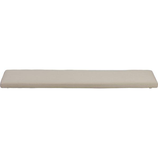 Ventura Sunbrella ® Stone Dining Bench Cushion