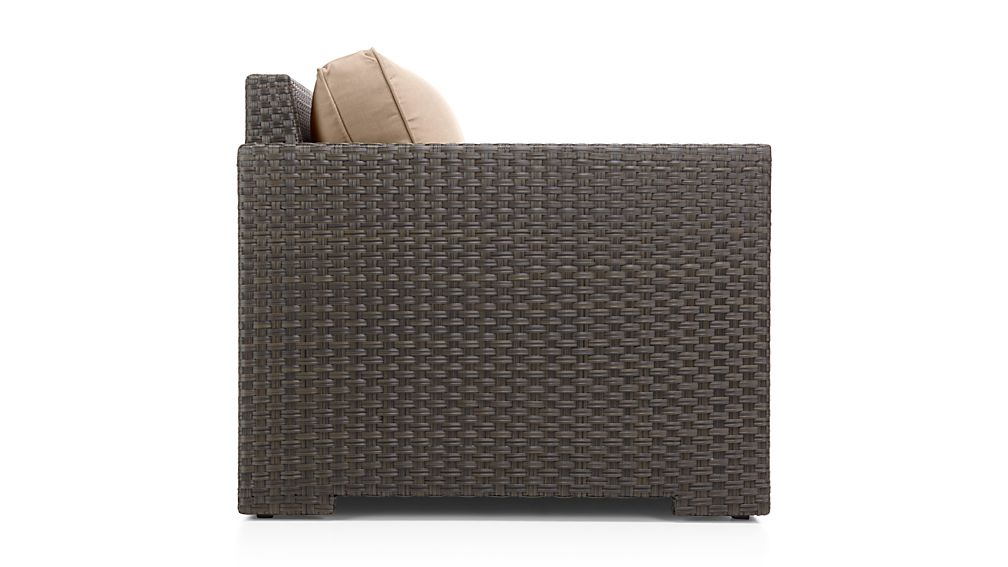 Ventura Umber Modular Left Arm Chair