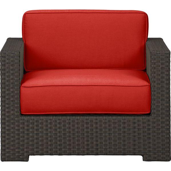 Ventura Lounge Chair with Sunbrella ® Caliente Cushions