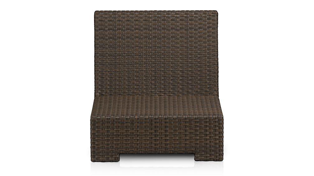 Ventura Umber Modular Armless Chair
