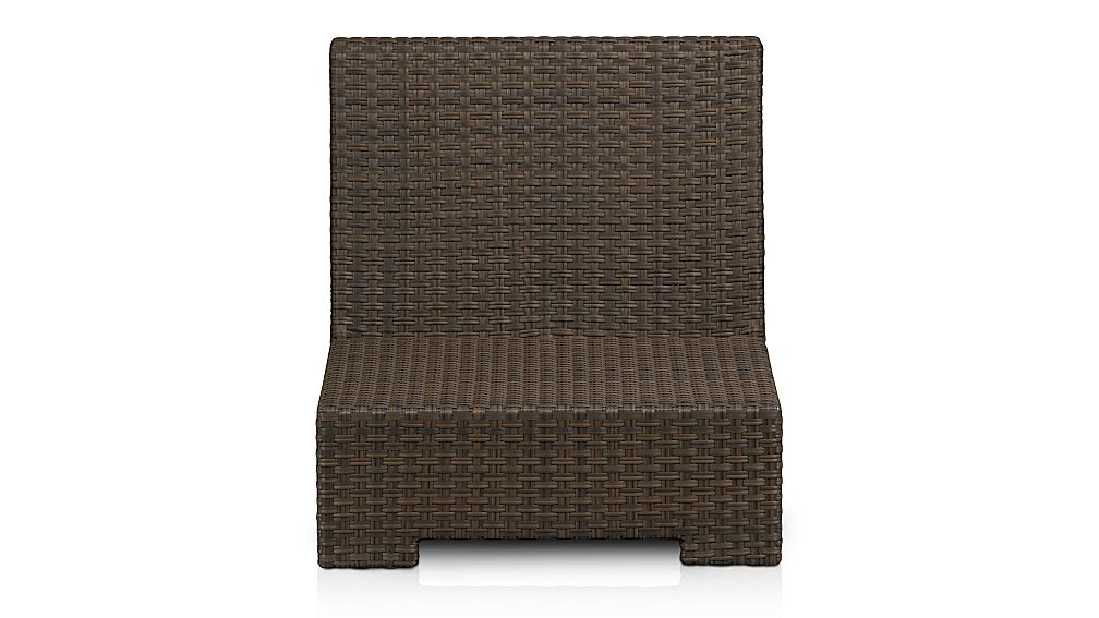 Ventura Umber Modular Armless Chair - Image 1 of 1