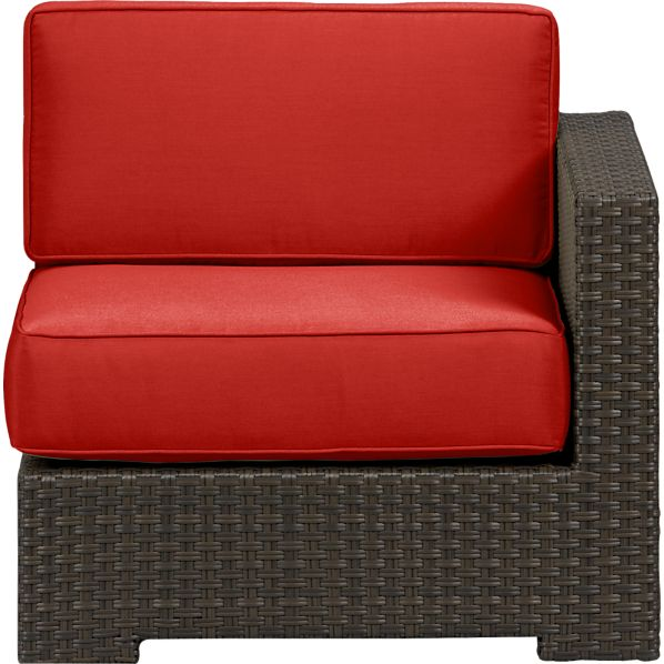 Ventura Modular Right Arm Chair with Sunbrella ® Caliente Cushions