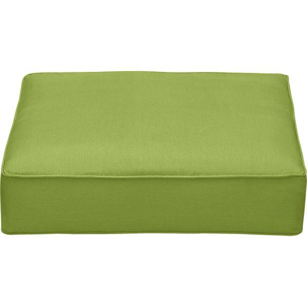 Sunbrella ® Kiwi Modular Ottoman Cushion