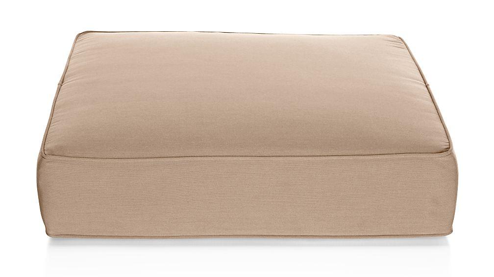 Ventura Stone Sunbrella ® Modular Ottoman Cushion - Image 1 of 4