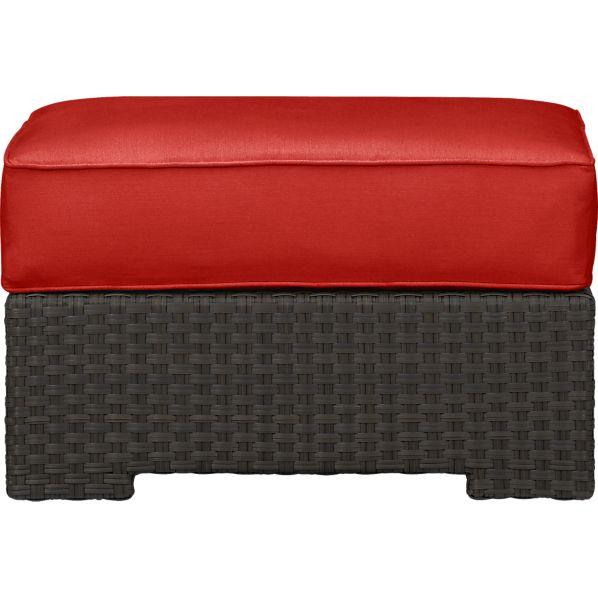 Ventura Ottoman with Sunbrella ® Caliente Cushion