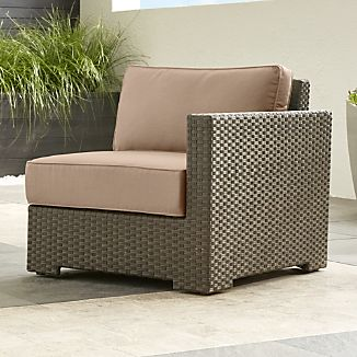 All Weather Wicker Armchairs