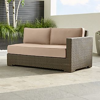 contemporary outdoor furniture crate and barrel