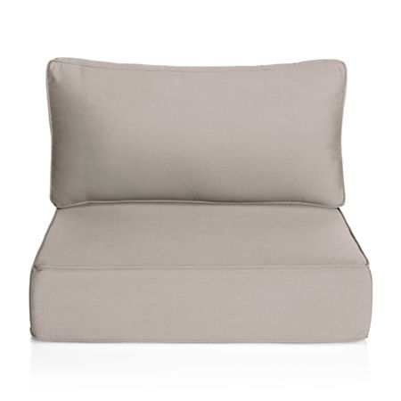 Ventura Grey Outdoor Chair Cushion