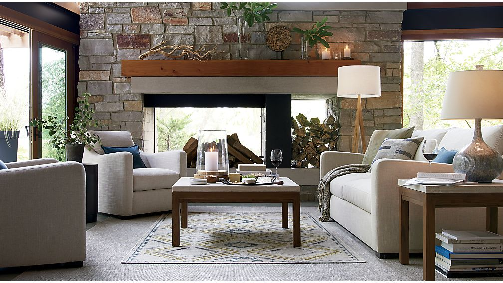 18 Crate And Barrel Verano Sofa