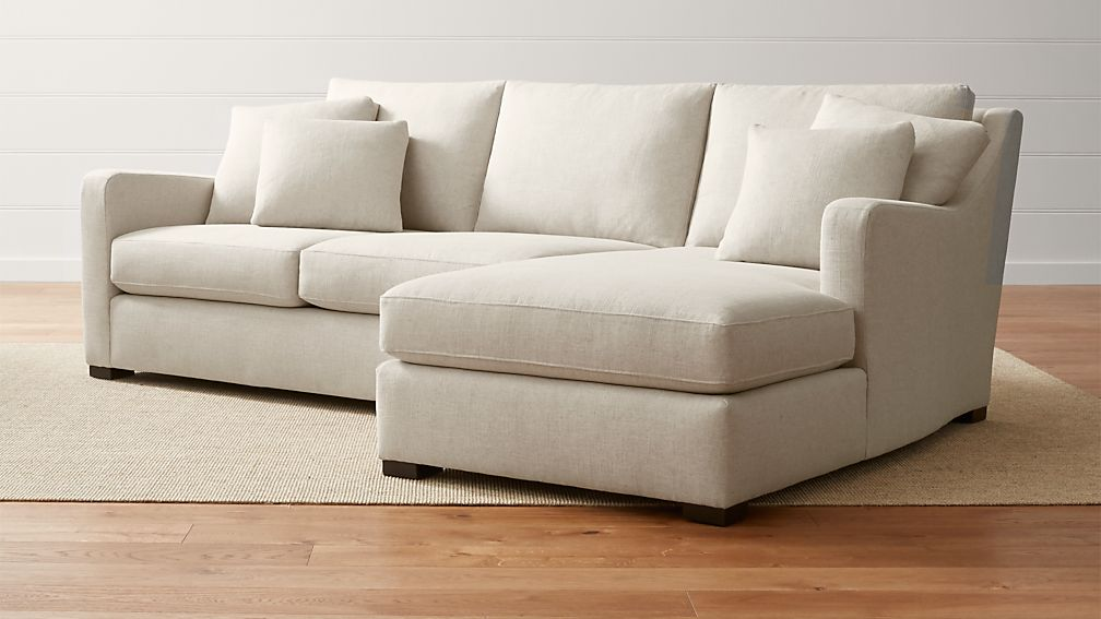 Loveseat sectional sofa with chaise hereo sofa for Couch with 2 chaises