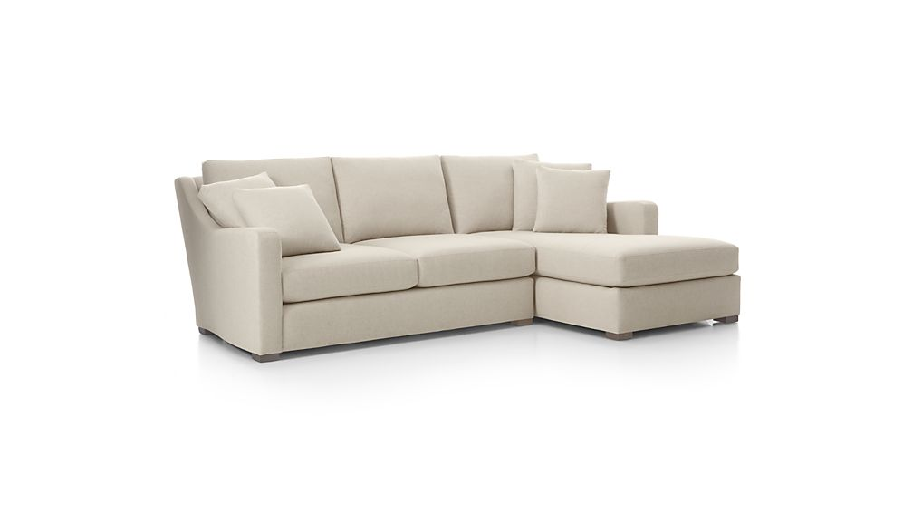 Verano 2-Piece Right Arm Chaise Sectional Sofa