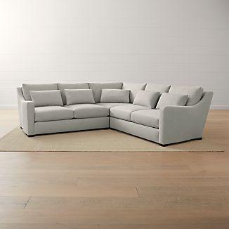 Verano Ii 3 Piece Slope Arm Sectional Sofa