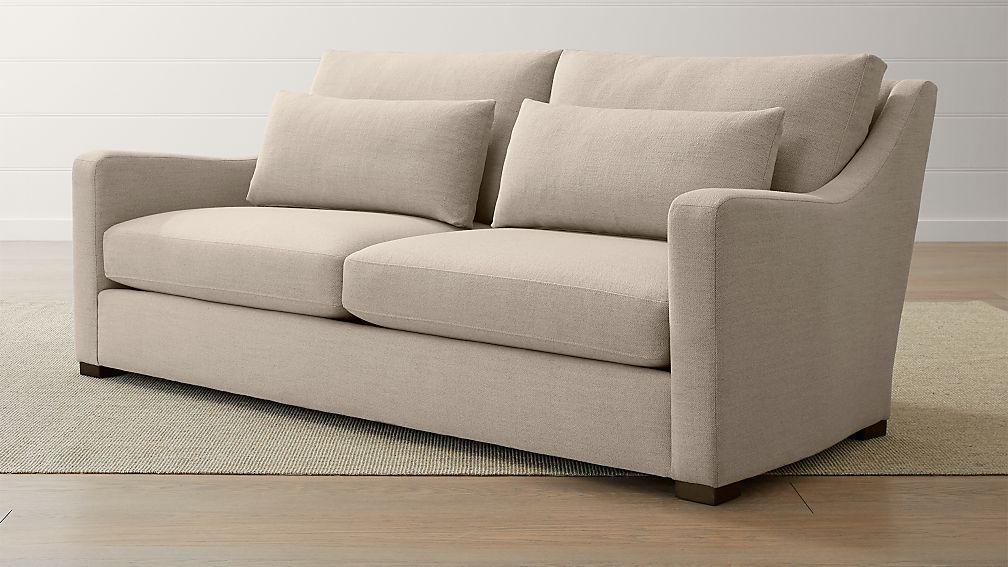 Verano II Petite Slope Arm Sofa - Image 1 of 5