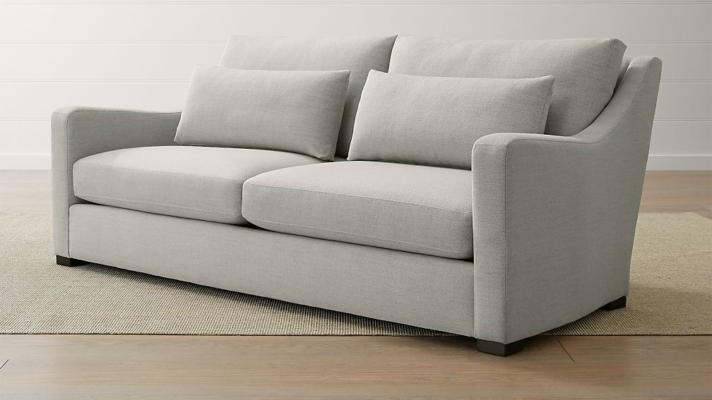 Verano II Petite Slope Arm Sofa - Image 1 of 6