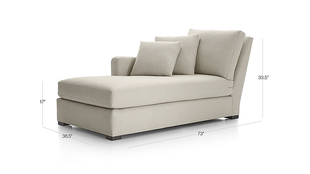 Verano Left Arm Chaise Lounge Crate And Barrel